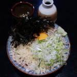 手打ち入福そば店 - 料理写真:入福そば(冷)700円