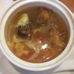 彩雲瑞 -  [桂花西紅柿湯] トマト入りタマゴスープ