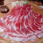 91357723 - 黒豚しゃぶしゃぶ用の肉