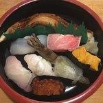 91360398 - 特上寿司 海老が生きてる時あります