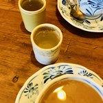 カフェドムッシュ - 最後にちっちゃなちっちゃなお湯のみに入った昆布茶が出てきます♪
