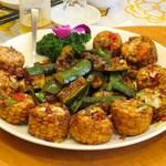 南粤美食 - 椒鹽粟米(トウモロコシの揚げもの塩胡椒風味)