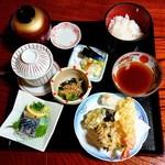 石水 - お好み膳(天ぷら)