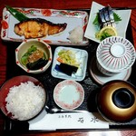 石水 - お好み膳(焼き魚)