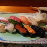 味楽寿司 - 料理写真:上生寿司