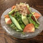 91372113 - 生野菜サラダSサイズ ¥450
