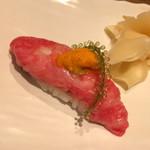 91377812 - 肉寿司