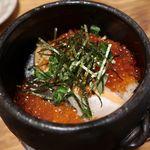 91378617 - 鮭いくら土鍋飯