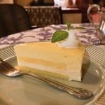 ゆりあぺむぺる - レモンのレアチーズケーキ たしか夏季限定って書いてあったような。。