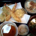 9138107 - 寿し定食の天ぷら