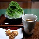 真茶園 茶町本店 - 料理写真:真茶園 茶町本店 抹茶かき氷