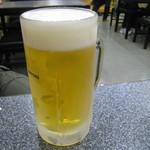 かとりや - 生ビール 580円