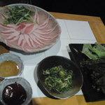 神戸 鉄飯屋 - 豚しゃぶのロース肉