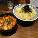 ちいおり - 110730 辛つけ麺(特盛)