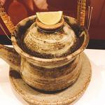 91380199 - 鱧と松茸の土瓶蒸し(^^)