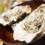 大衆天ぷらtoかすそば風土.はなれ - 生牡蠣