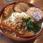 麺場 田所商店 - 伊勢味噌漬け炙りチャーシュー麺