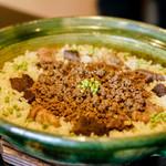 徳山鮓 - 熊炊き込みご飯