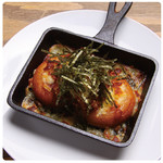 芋持ちと鶏そぼろのチーズ焼き