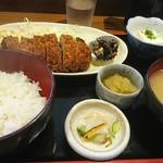 はらぺこダイニング - 梅紫蘇ミルフィーユかつ定食