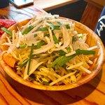 ジンギスカン楽太郎 - 最初のセットの野菜
