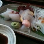 9139477 - 地白身魚3点盛定食 1,500円