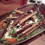 9139581 - ごぼうの唐揚げ入り水菜のサラダ(メニュー名忘)
