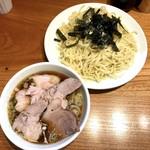 神田らぁめん悠 - チャーシューざるらぁめん(1,200円)