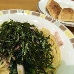 サイゼリヤ - ・ランチセット<ほうれん草のスパゲッティ>