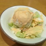 サイゼリヤ - ランチセットのサラダ