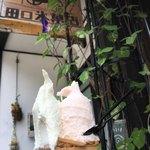 田口氷菓店 - りんごヨーグルトと桃シャーベット