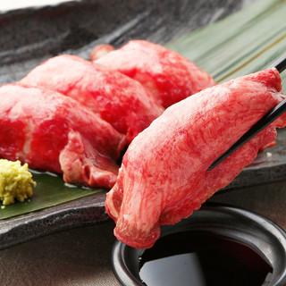 『厳選肉寿司』食べ放題3,980円