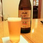 うなぎ 赤坂 勢きね - ビール