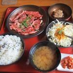 焼肉OGAWA - 焼肉ランチセット