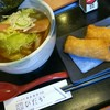 鮨爽醇鳥 ひだか - 料理写真:石狩鮭醤油ラーメン いなり二個付き