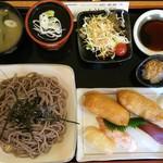 91397024 - 寿司そばセット