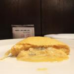 91398139 - ブルーチーズのオムレツトロトロすぎて断層むずいやつやっ。