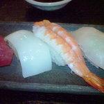 黒かべ - 寿司アップ