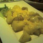 地鶏とイベリコ豚のお店 Dainoji - ポテトにチーズがとろ~り♪