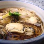 富士見屋 - 牡蠣南蛮蕎麦