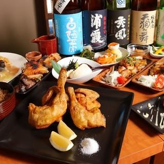 鮮魚と色鶏どりの酒処 ふ~ち~く~ち~ 東長崎
