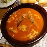 ベルサイユの豚 - 鶏のトマト煮込み