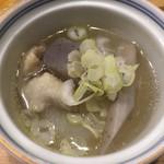 伊勢ろく - 季節野菜の炊き合わせ
