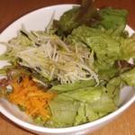 リリーベリー - Aセットのサラダ