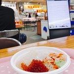 釧路和商市場 - こんな風なところで食べてます(*^^*)