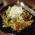 Iburi - 釜揚げシラスと葱のサラダ