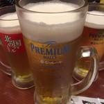 北の国バル - なのに何故だ? こんなジャンボなビール注文したのだろう…