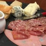 北の国バル - ハムとチーズ