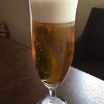 アヒージョ&パスタ - 生ビール