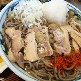 といや - 料理写真:おろし肉そば(冷) 750円